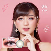 Pink Rabbit Elsha Gray - Pink Rabbit - Softlens Queen - Natural Colored Contact Lenses