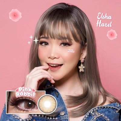 Pink Rabbit Elsha Hazel - Pink Rabbit - Softlens Queen - Natural Colored Contact Lenses