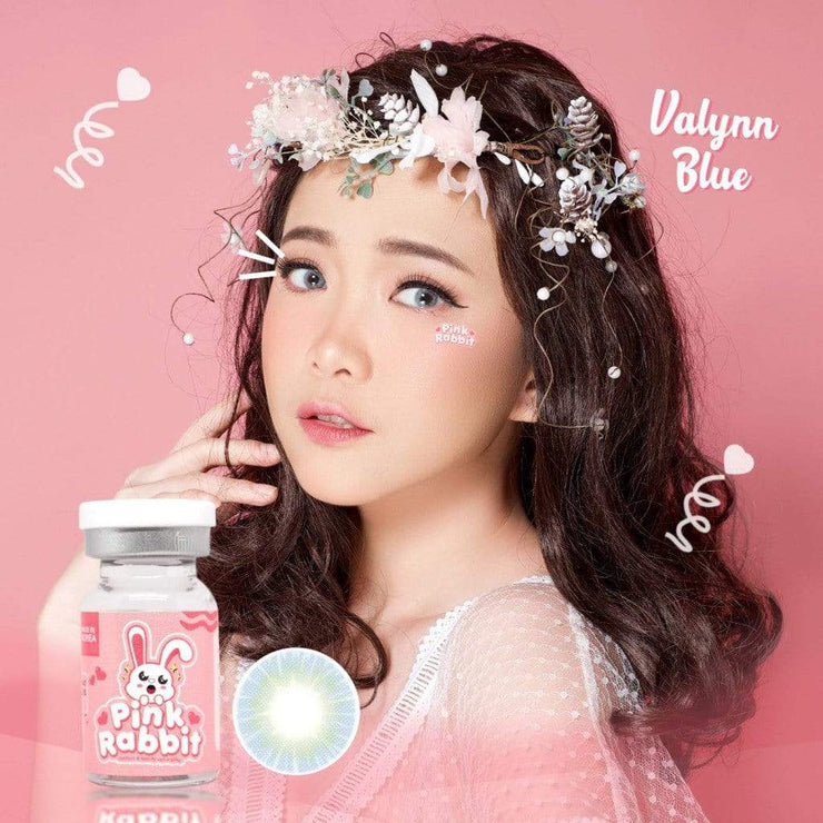 Pink rabbit Valynn Blue - Pink Rabbit - Softlens Queen - Natural Colored Contact Lenses