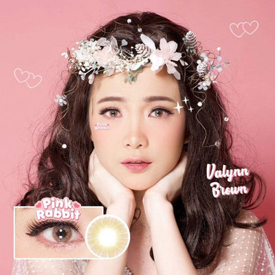 Pink Rabbit Valynn Brown - Pink Rabbit - Softlens Queen - Natural Colored Contact Lenses