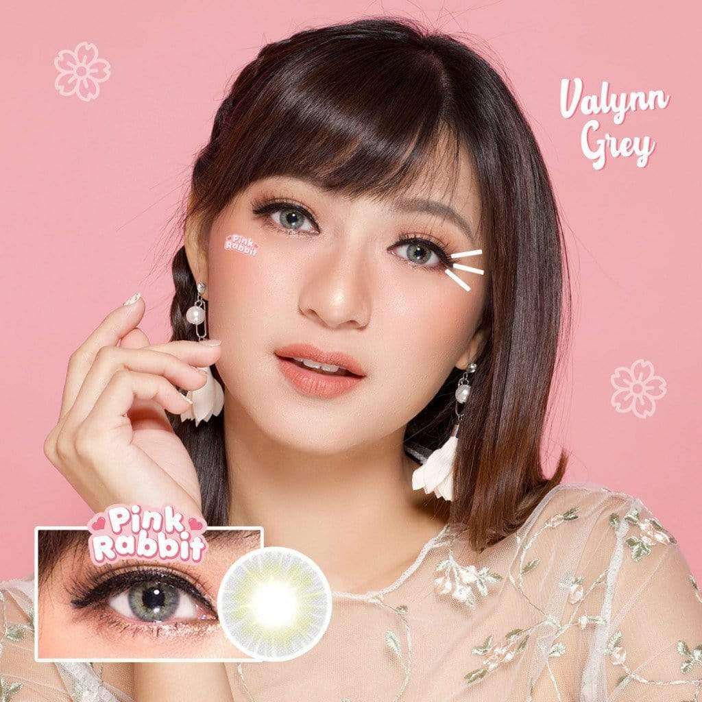 Pink rabbit Valynn Gray - Pink Rabbit - Softlens Queen - Natural Colored Contact Lenses