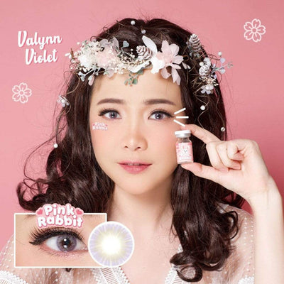 Pink Rabbit Valynn Violet - Pink Rabbit - Softlens Queen - Natural Colored Contact Lenses