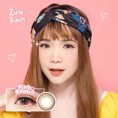 Pink Rabbit Ziora Brown - Pink Rabbit - Softlens Queen - Natural Colored Contact Lenses