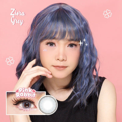 Pink Rabbit Ziora Gray - Pink Rabbit - Softlens Queen - Natural Colored Contact Lenses