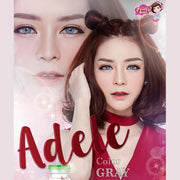 Pretty Adele Gray - Pretty Doll - Softlens Queen - Natural Colored Contact Lenses