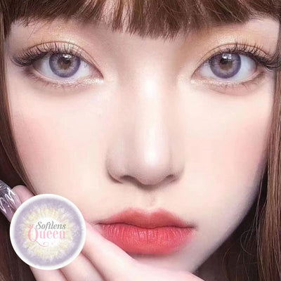 Princess Bollycon DNA Violet - Princess - Softlens Queen - Natural Colored Contact Lenses