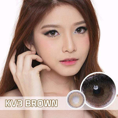 Princess KV Brown (TORIC) - Princess - Softlens Queen - Natural Colored Contact Lenses