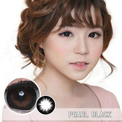 Princess Pearl Black (TORIC) - Princess - Softlens Queen - Natural Colored Contact Lenses