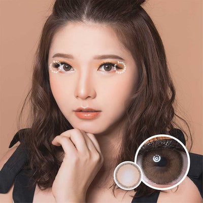 Princess Roze Beige - Princess - Softlens Queen - Natural Colored Contact Lenses