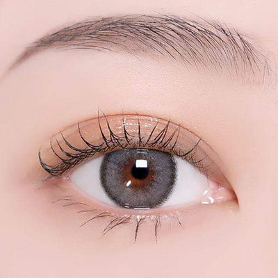 Princess Roze Charcoal - Princess - Softlens Queen - Natural Colored Contact Lenses