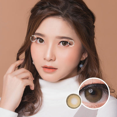 Princess Roze Olive - Princess - Softlens Queen - Natural Colored Contact Lenses