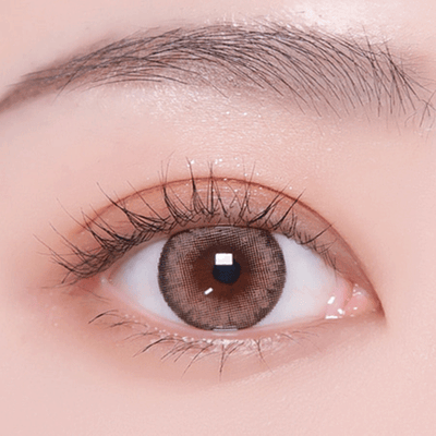 Pro 1.5 Peach Brown - I-doll - Softlens Queen - Natural Colored Contact Lenses
