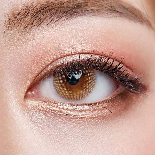 Russian Velvet Brown - Sweety Plus - Softlens Queen - Natural Colored Contact Lenses
