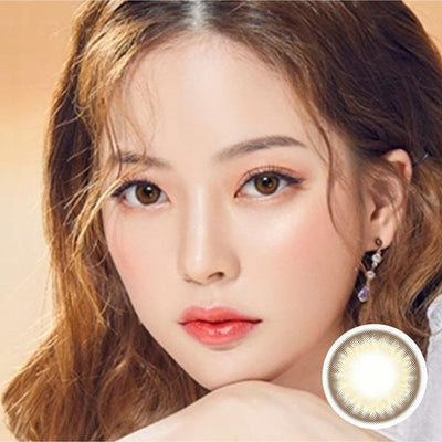 Spanish Circle Brown - Princess - Softlens Queen - Natural Colored Contact Lenses