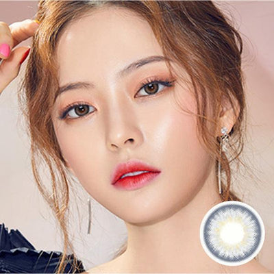 Spanish Circle Gray - Princess - Softlens Queen - Natural Colored Contact Lenses