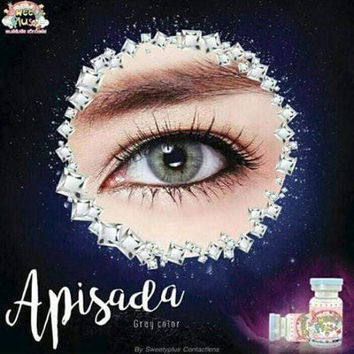 Sweety Apisada Gray - Sweety Plus - Softlens Queen - Natural Colored Contact Lenses