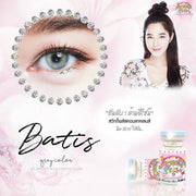 Sweety Batis Gray - Sweety Plus - Softlens Queen - Natural Colored Contact Lenses