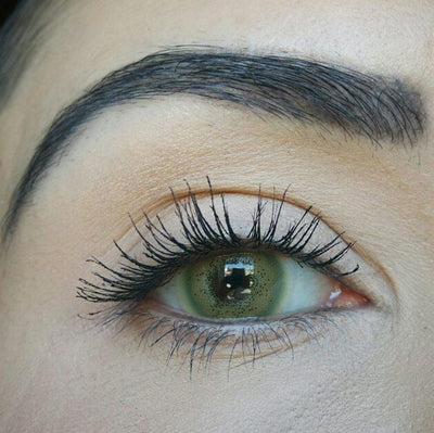 Sweety Batis Green - Sweety Plus - Softlens Queen - Natural Colored Contact Lenses