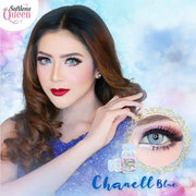Sweety Chanell Blue - Sweety Plus - Softlens Queen - Natural Colored Contact Lenses