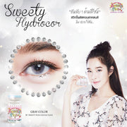 Sweety Hidrocor Gray - Sweety Plus - Softlens Queen - Natural Colored Contact Lenses