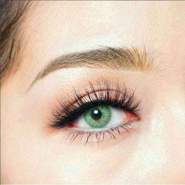Sweety Pitchy Green - Sweety Plus - Softlens Queen - Natural Colored Contact Lenses