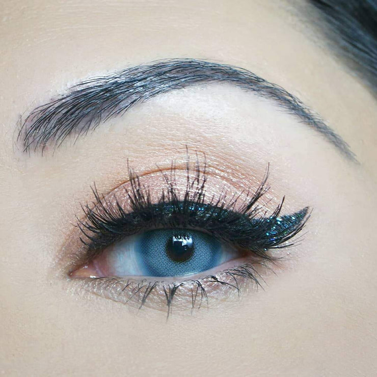 Sweety Spatax Blue - Sweety Plus - Softlens Queen - Natural Colored Contact Lenses