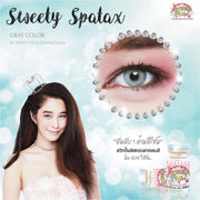 Sweety Spatax Gray - Sweety Plus - Softlens Queen - Natural Colored Contact Lenses