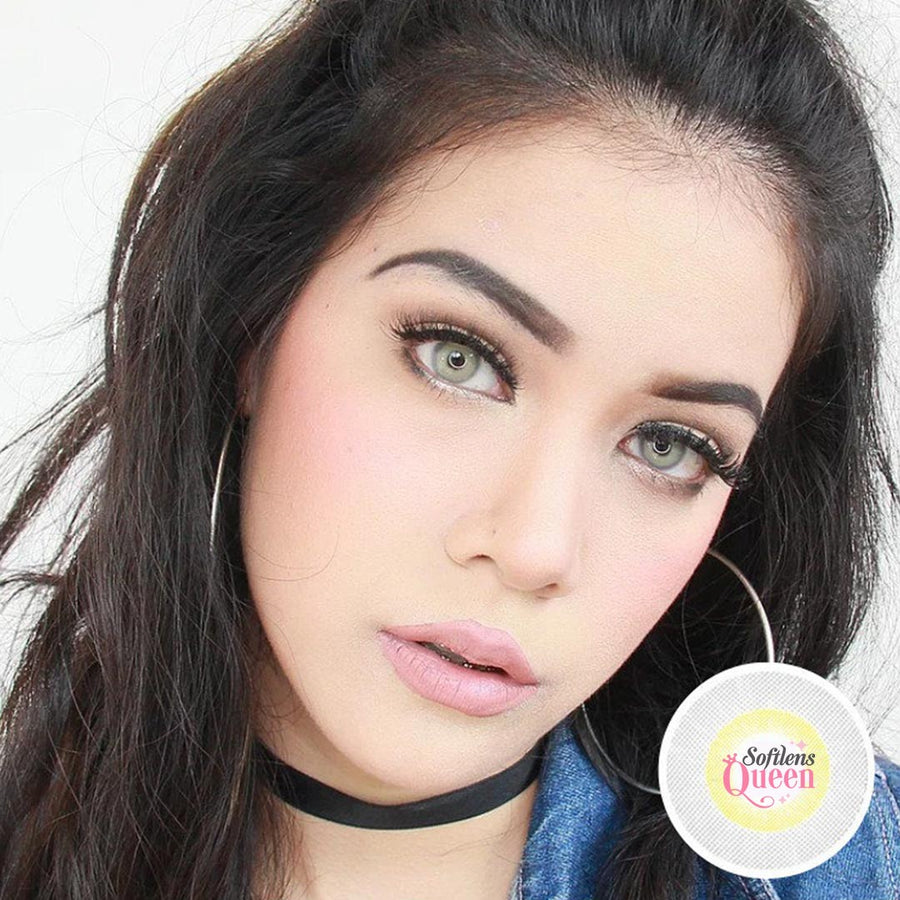 Natural - Sweety Spatax Gray - Softlens Queen