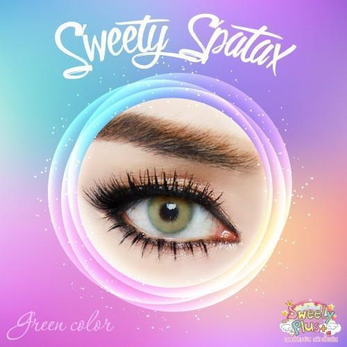 Sweety Spatax Green - Sweety Plus - Softlens Queen - Natural Colored Contact Lenses