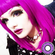 Twilight Violet - The Dolly Eye - Softlens Queen - Natural Colored Contact Lenses
