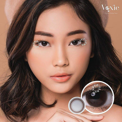 Voxie Donut Brown - Voxie Lens - Softlens Queen - Natural Colored Contact Lenses
