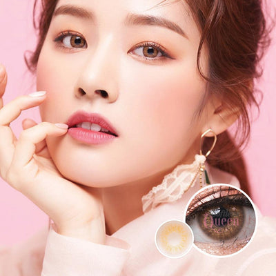 Voxie Lily Brown - Voxie Lens - Softlens Queen - Natural Colored Contact Lenses
