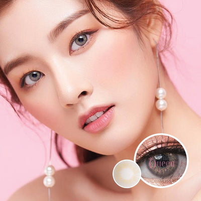 Voxie Lily Gray - Voxie Lens - Softlens Queen - Natural Colored Contact Lenses