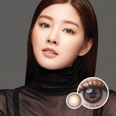 Voxie Mulan Gray - Voxie Lens - Softlens Queen - Natural Colored Contact Lenses