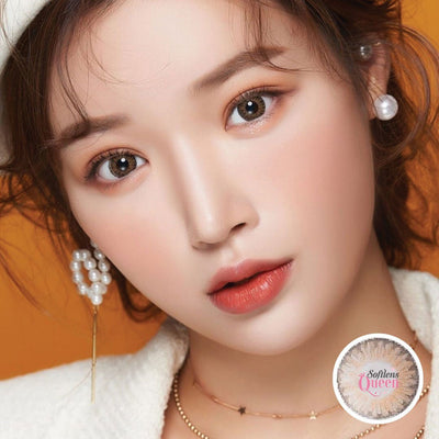 Voxie Ocean Brown - Voxie Lens - Softlens Queen - Natural Colored Contact Lenses