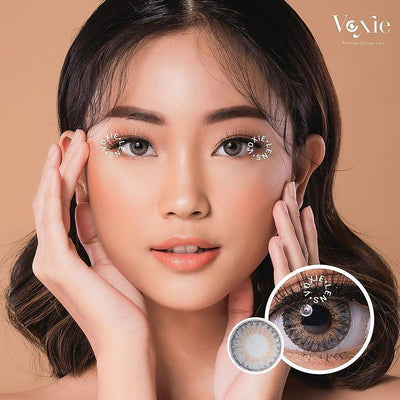 Voxie Ocean Gray - Voxie Lens - Softlens Queen - Natural Colored Contact Lenses