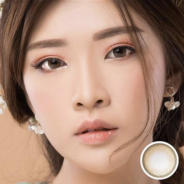 Zora Lilia Baby Brown - Zora - Softlens Queen - Natural Colored Contact Lenses