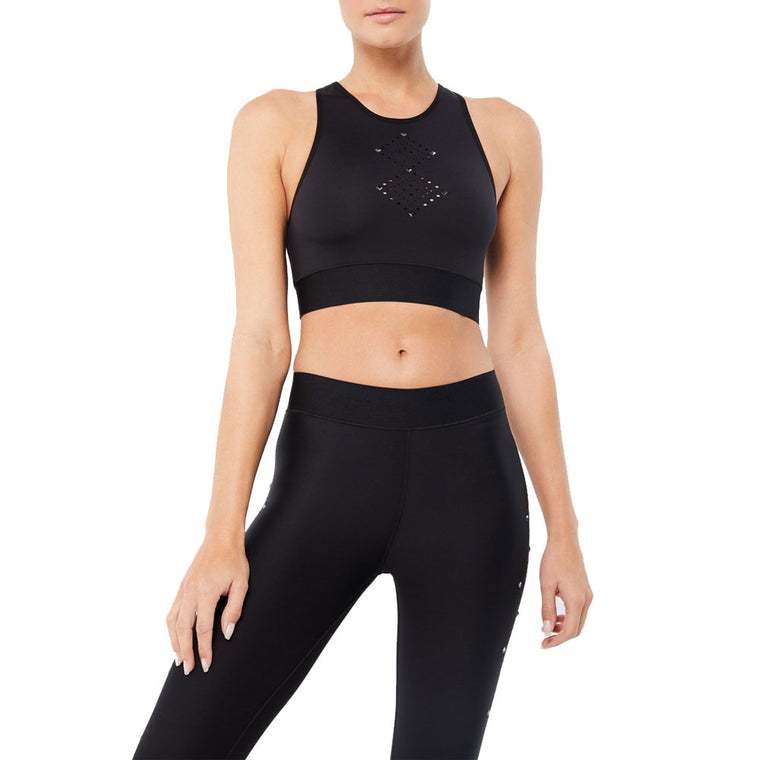 Altitude Argyle Crop Top with Swarovski® Crystals