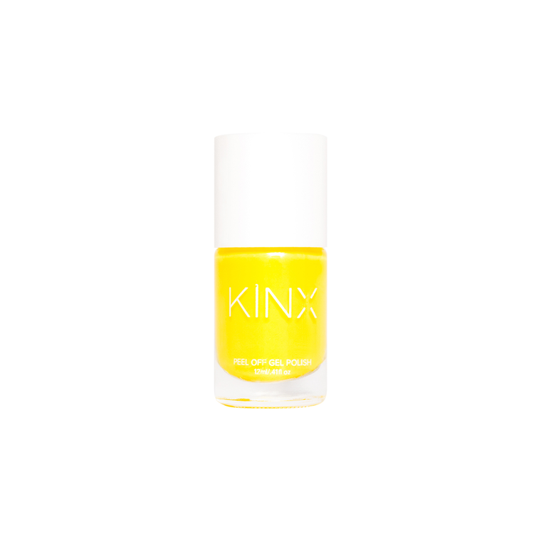 Lemon Peel Off Gel Nail Polish
