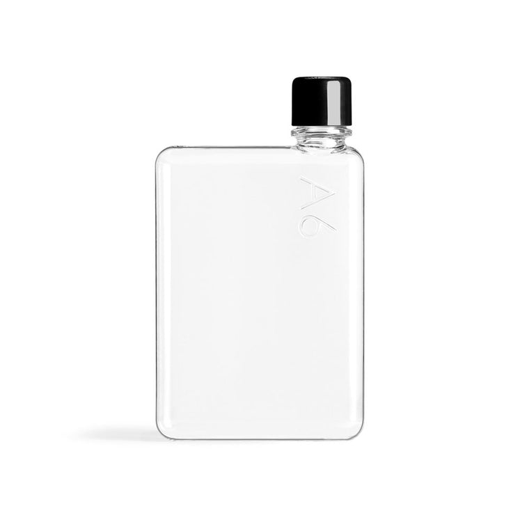 Slim Glass Short Water Memobottle
