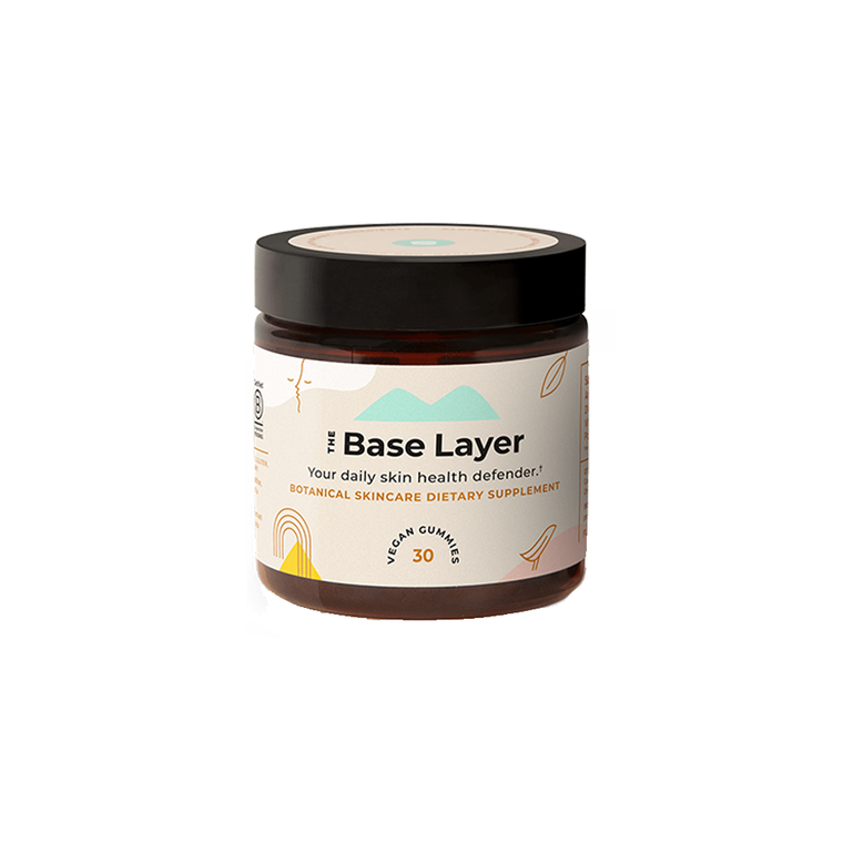 The Base Layer Botanical Skincare Gummies
