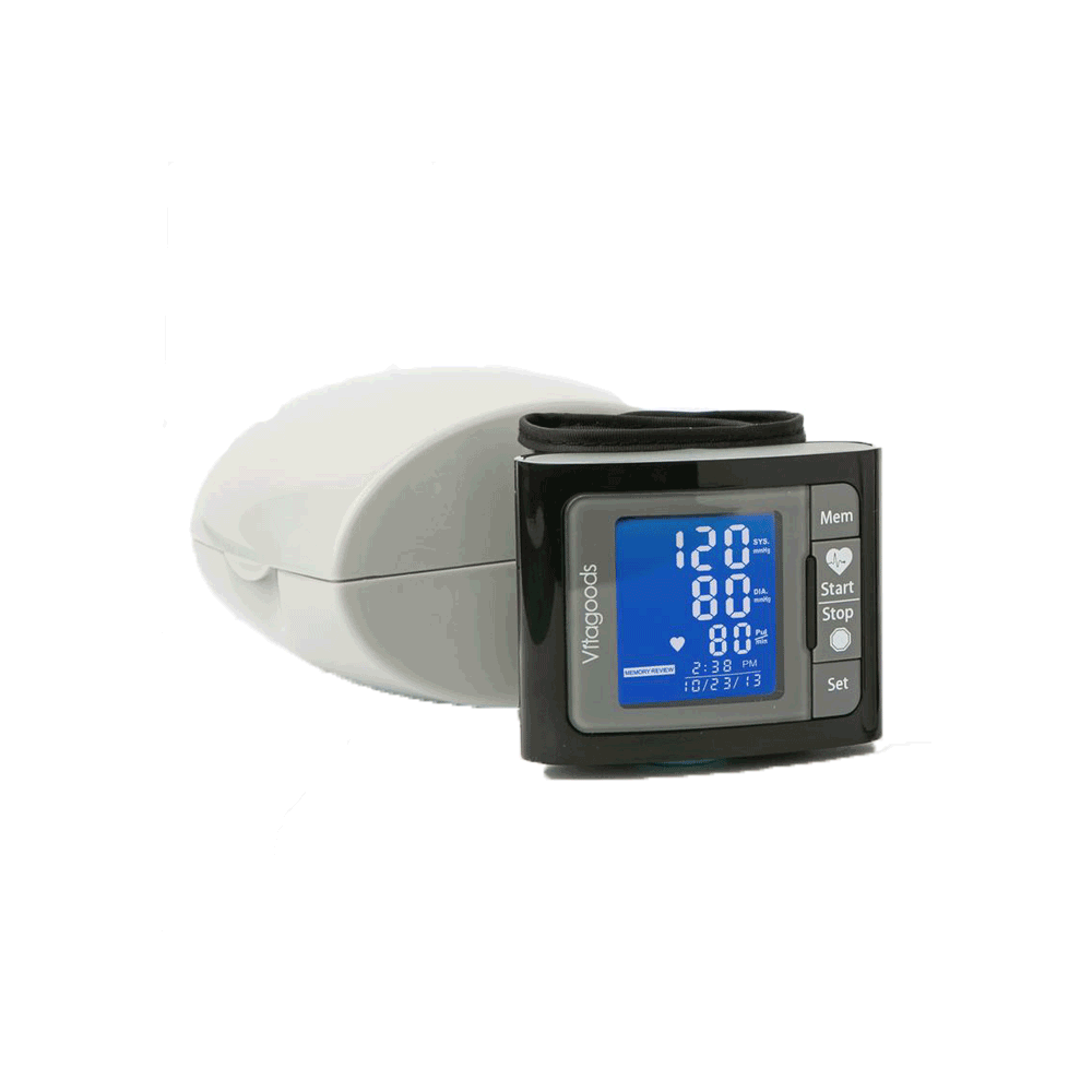 Travel Pulse Wrist Blood Pressure Monitor