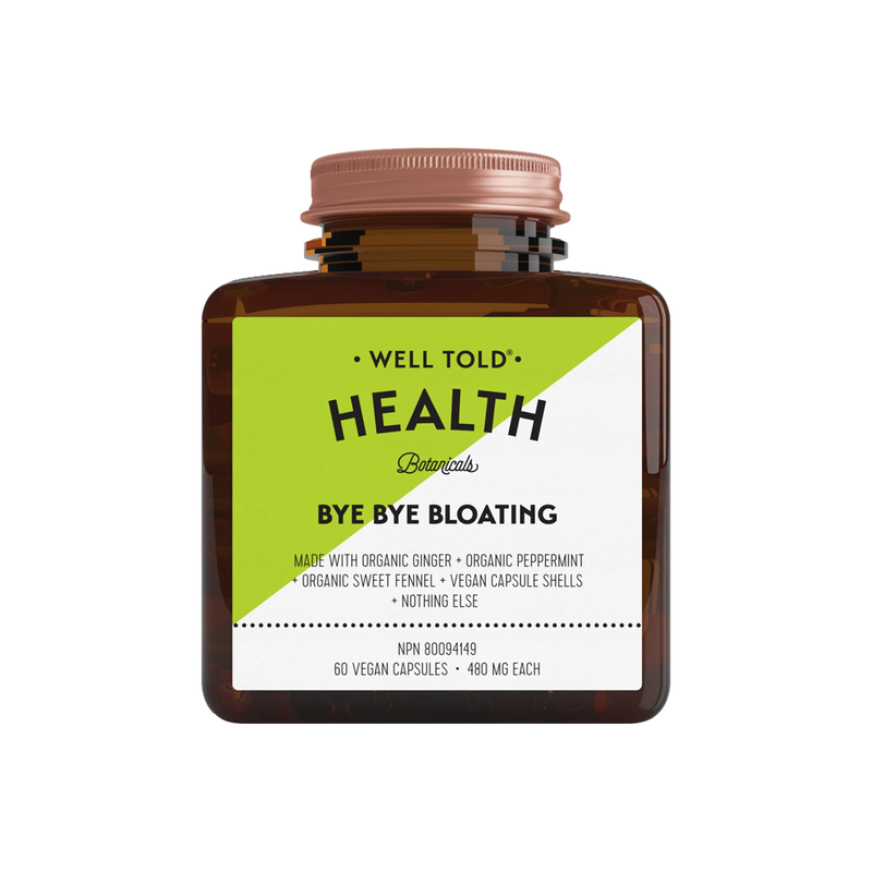Bye Bye Bloating Organic Supplement