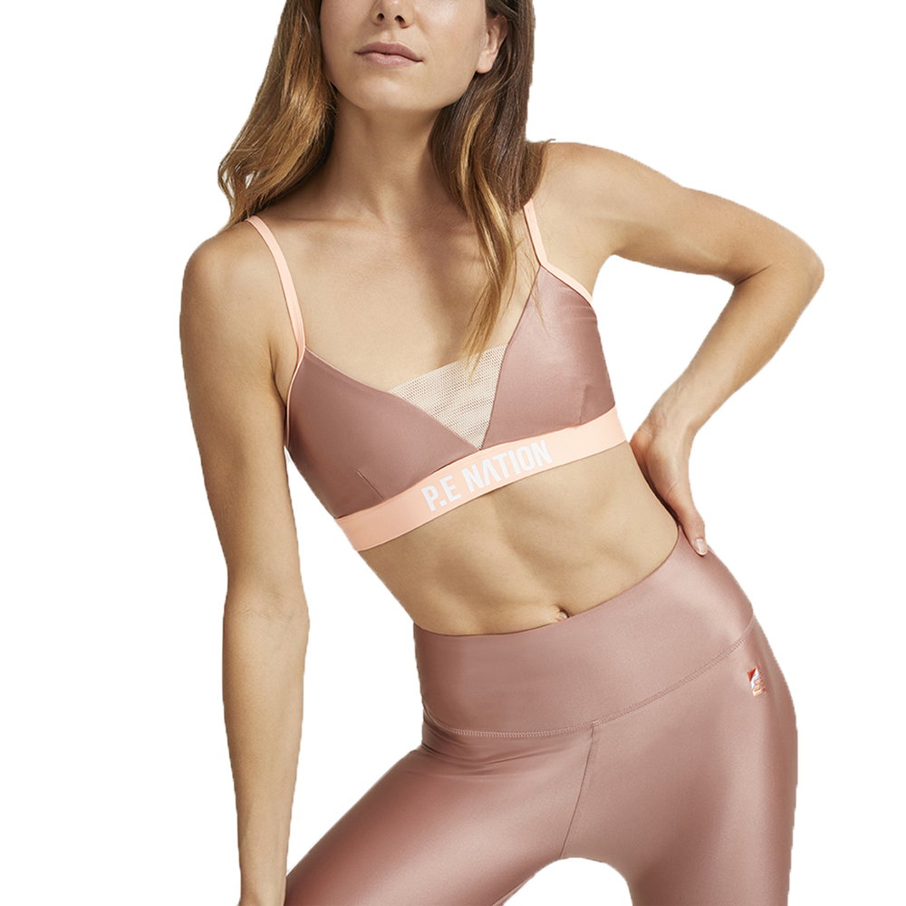 Centre Mark Rose Sports Bra