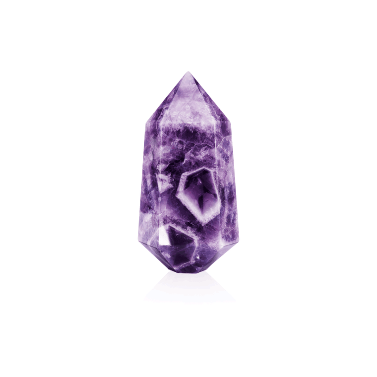 Crystal |  Amethyst Elevated Point