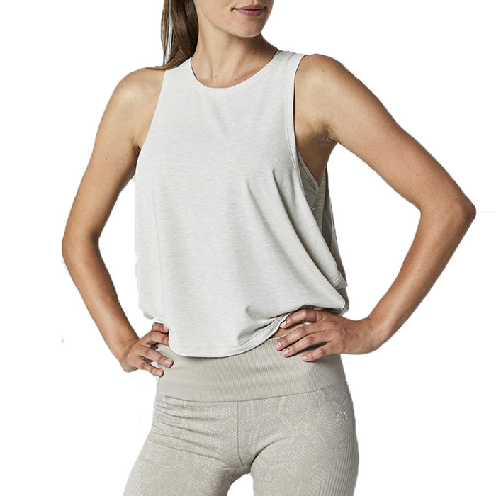 Buckley Oatmeal Crop Top