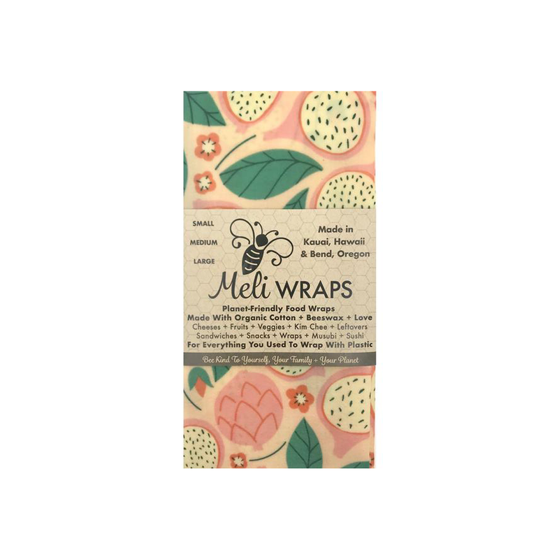 Dragonfruit Printed Re-Usable Food Wraps