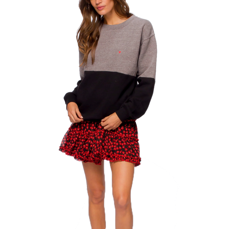 Heart Emb Alice Sweatshirt