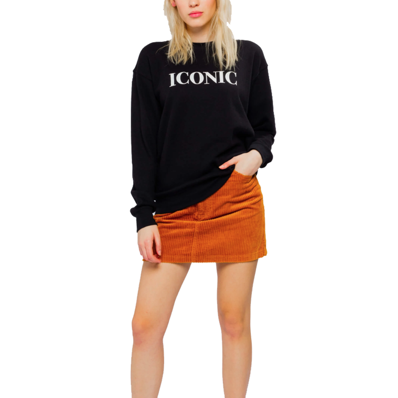 Iconic Black Willow Sweatshirt
