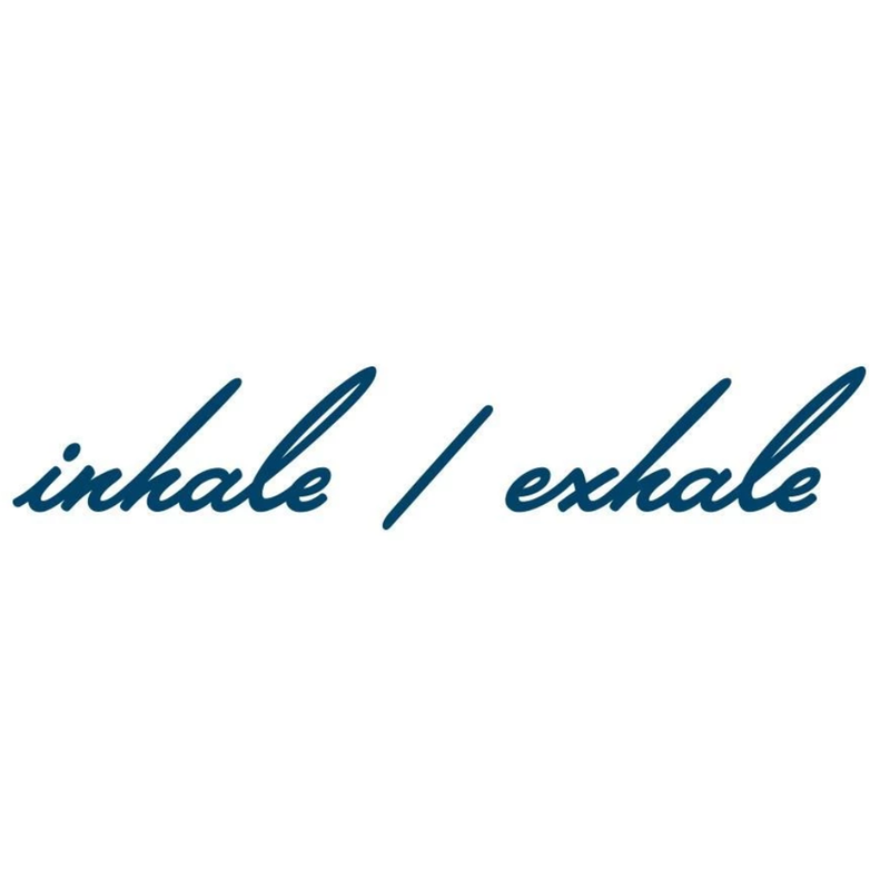Inhale Exhale Manifestation Temporary Tattoo
